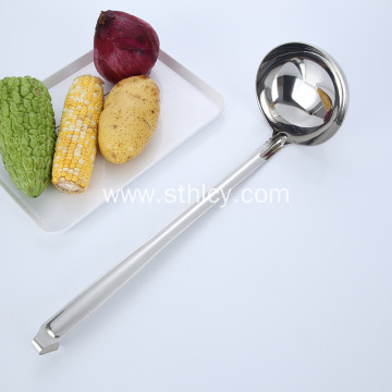 Stainless Steel Long Soup Ladle With Hook